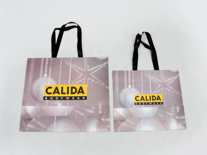 Undergarment Shopping Paper Bags Bottom Display
