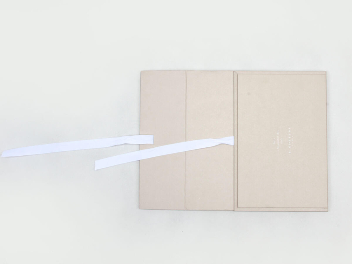 Upscale Garment Packaging Boxes Material Detail