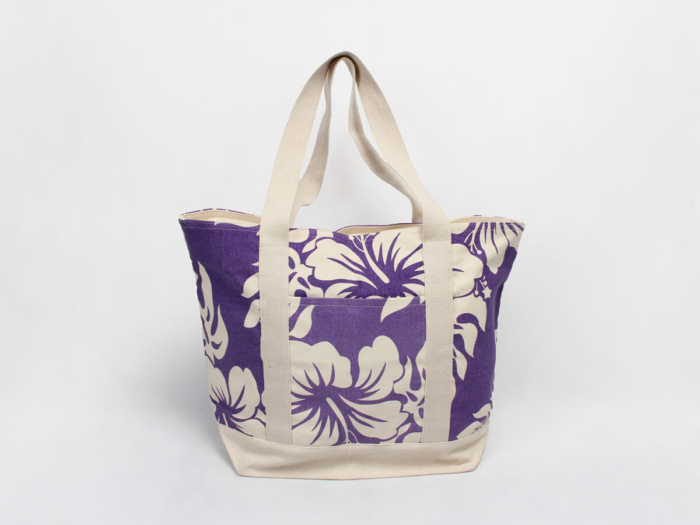 Violet ECO-Friendly Canvas Tote Bags