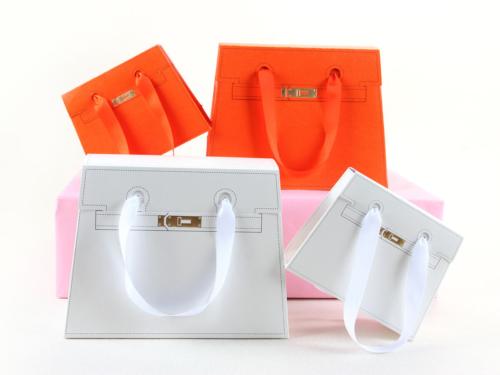 WULE Trapezoidal Gift Paper Handle Bag