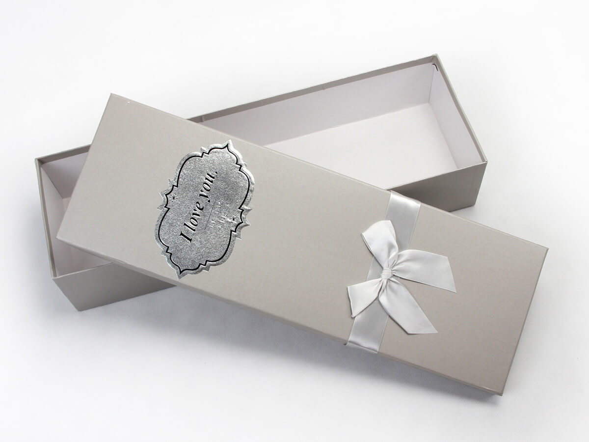 White Day Flower Packaging Boxes