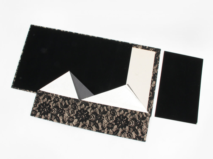 Women Luxury Shoe Packaging Boxes Expanded View