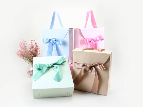 ZHIMEI Imitation Parchment Paper Gift Bags