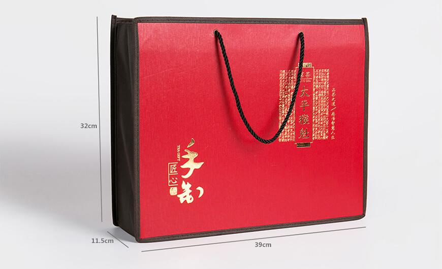 Black Tee Shopping Bag Side