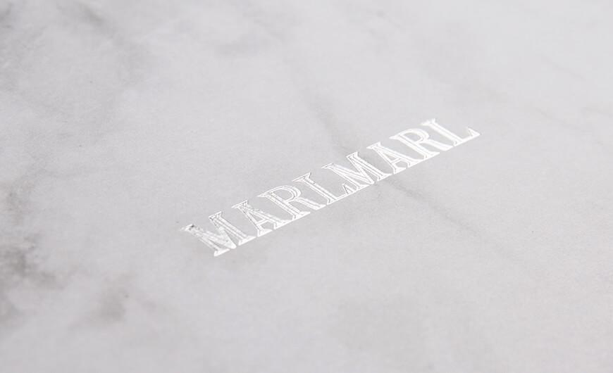 Marble Pattern Gift Packaging Folding Rigid Boxes Hot Sampling LOGO