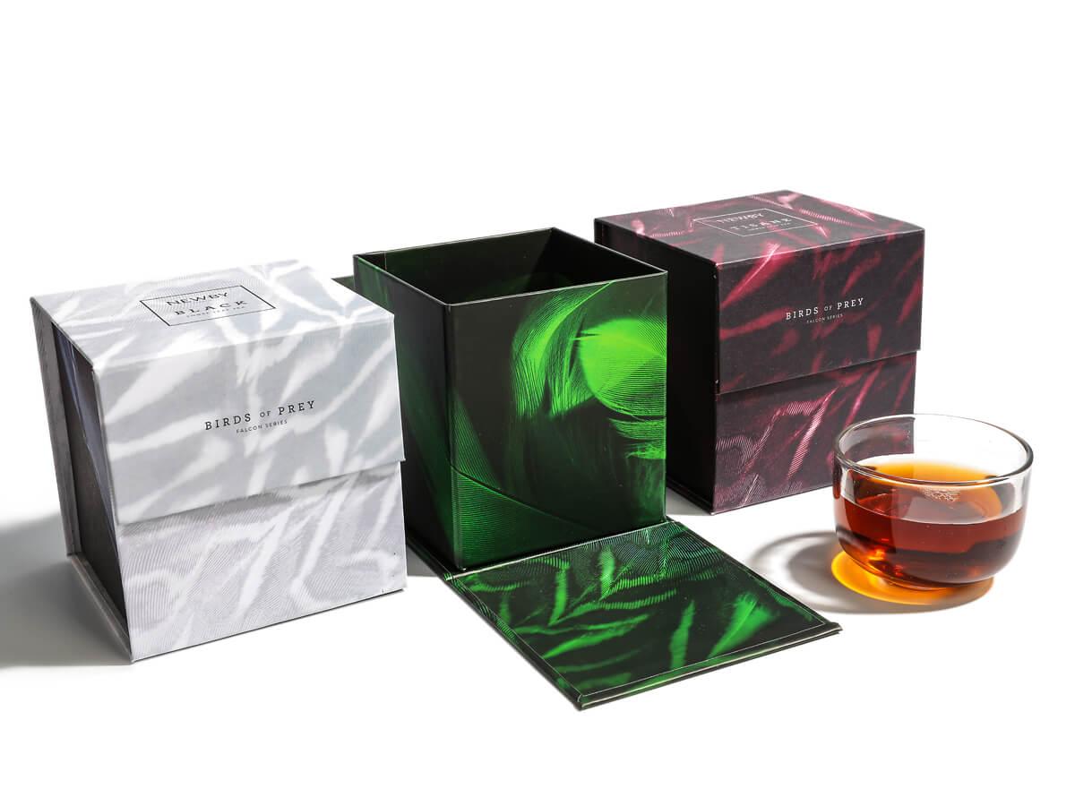 Flavoured Black Tea Rigid Boxes with Magnetic Closure