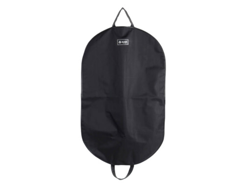 600D Nylon and Leather Hemming Garment Suit Carry On Bag