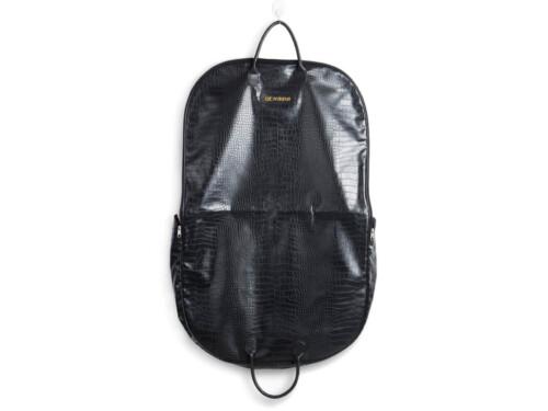 Crocodile PU Leather Carry On Suit Garment Bag