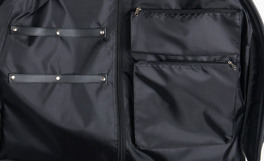 600D Polyester Garment Bag Suit Carry on Bag Lining Material