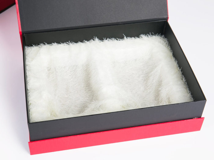 Black Tee Gift Packaging Box Lining Material
