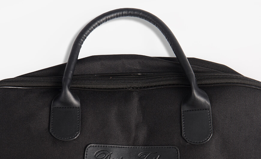 Busness Garment Suit Carry On Bag Leather Handle