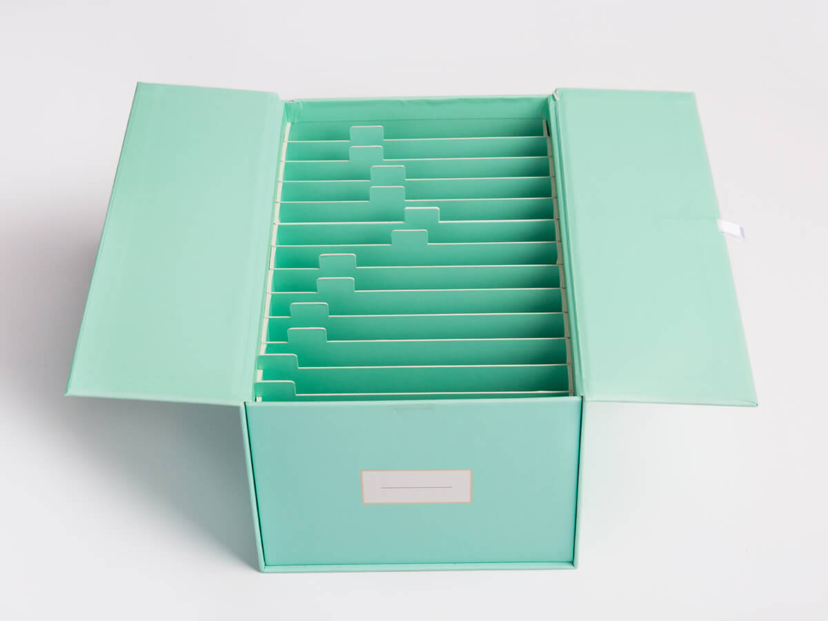 Children Baby Photo Frame Packaging Boxes Set Open Way