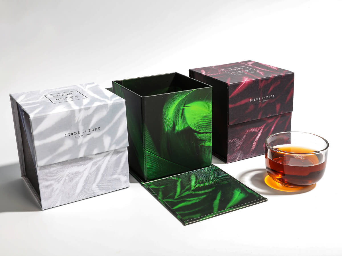 Creative Folding Flavoured Black Tea Packaging Boxes