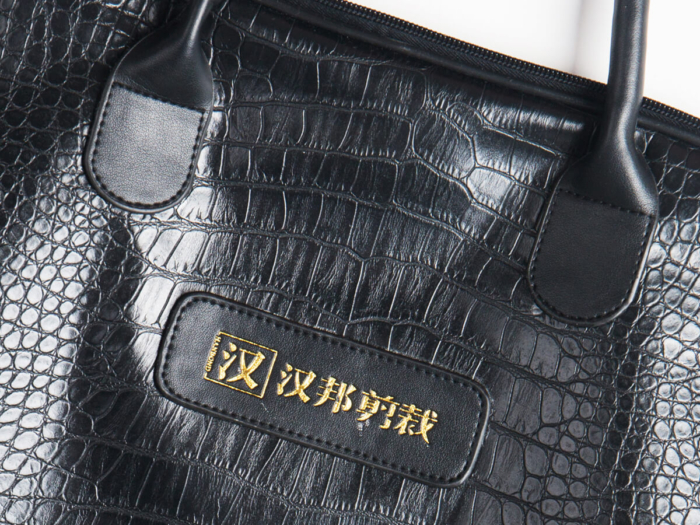 Crocodile PU Leather Material Detail