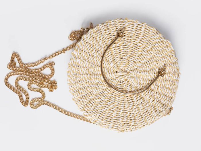 Crossbody Paper Straw Bag Handle Material