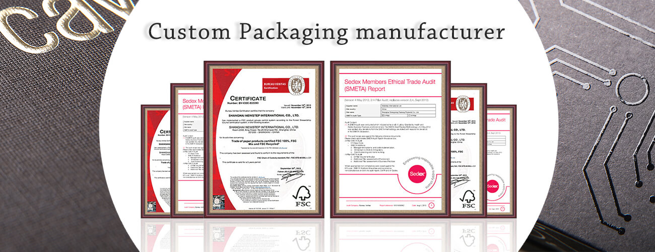 Custom Packaging Manufacturer Banner