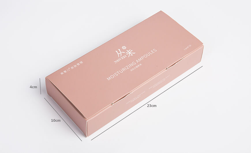 Essence Face Serum Packaging Boxes Size