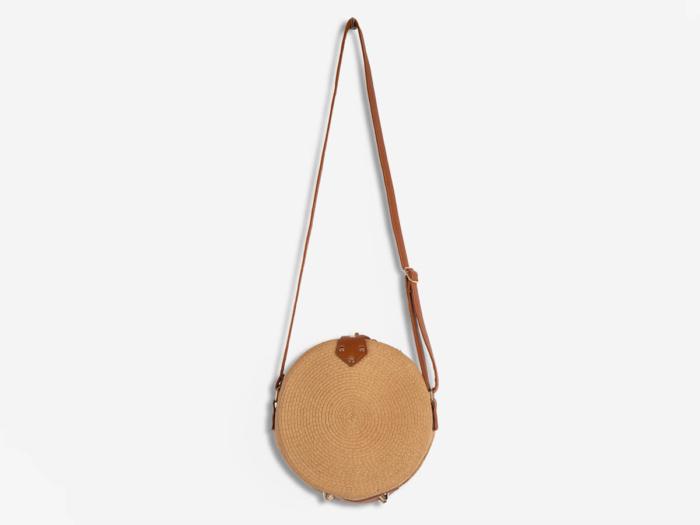 Fashion Round Lafite Straw Bag
