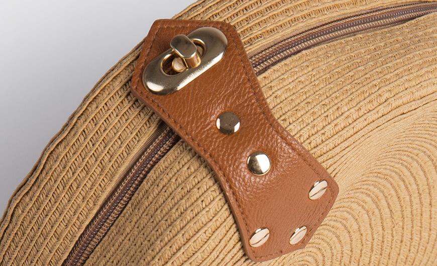 Fashion Round Lafite Straw Bag Accessories