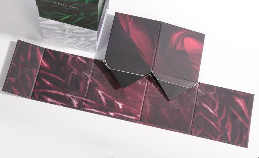 Flavoured Black Tea Packaging Boxes Folding Way Display