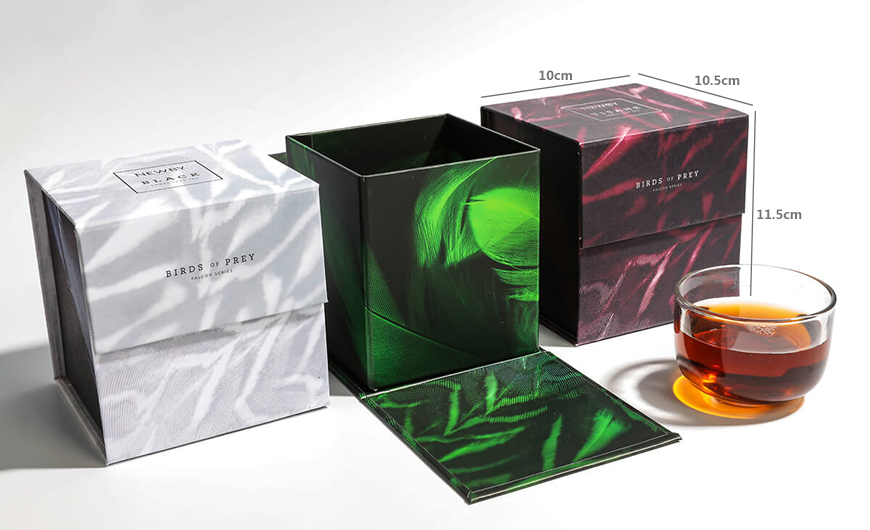 Flavoured Black Tea Packaging Boxes Size