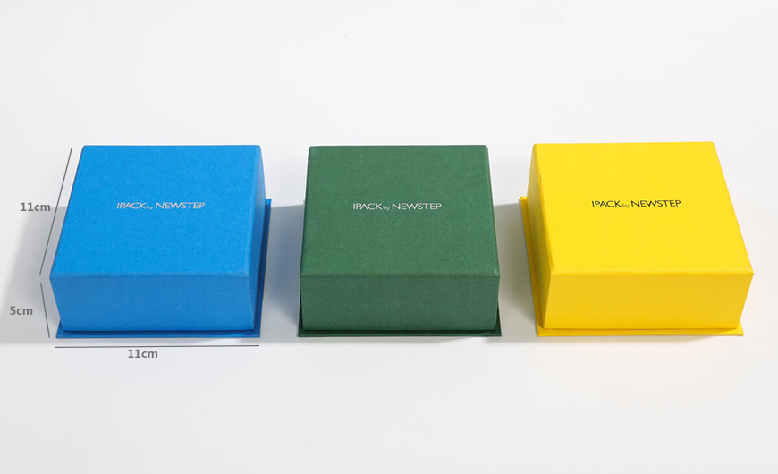 Jewelry Clamshell Packaging Boxes Size