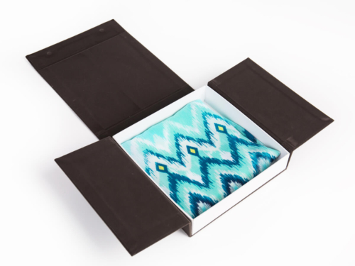 Luxury Flannel Scarf Gift Packaging Boxes