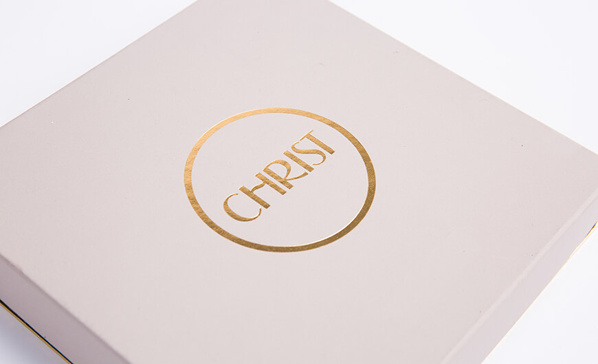 Luxury Jewellery Necklace Packaging Boxes Display Boxes Corner Detail