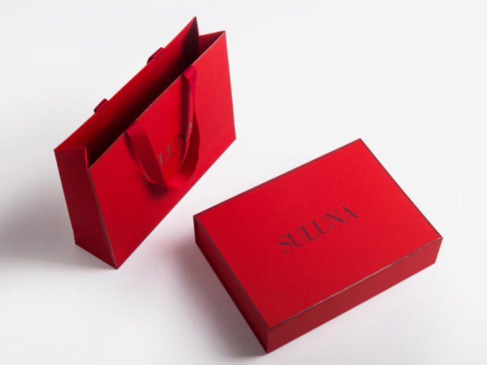 Luxury Underwear Soft Touch Paper Packaging Box and Bag