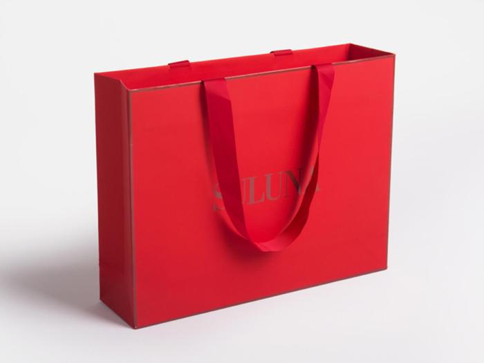 Luxury Underwear Soft Touch Paper Shopping Bag
