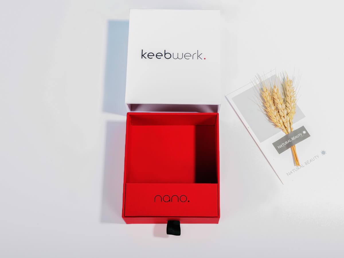 Mechanical Keyboard Keys Packaging Boxes Corner Detail