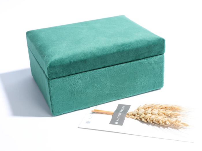Mini Velvet Jewelry Boxes Storage Case Material