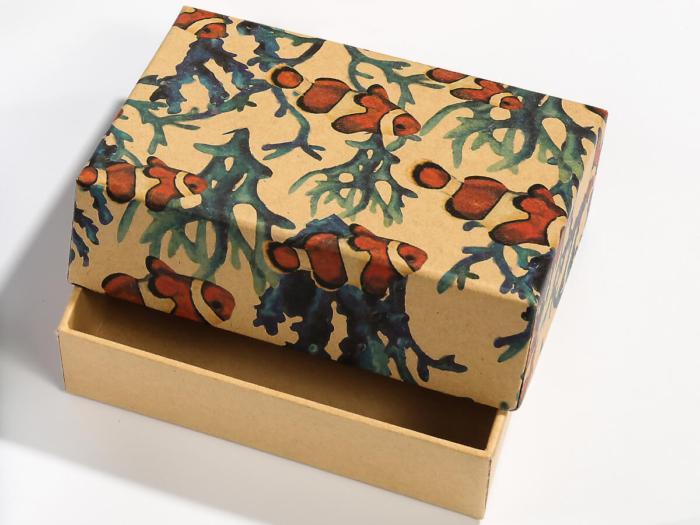 Natural Environment Packaging Boxes Corner Detail