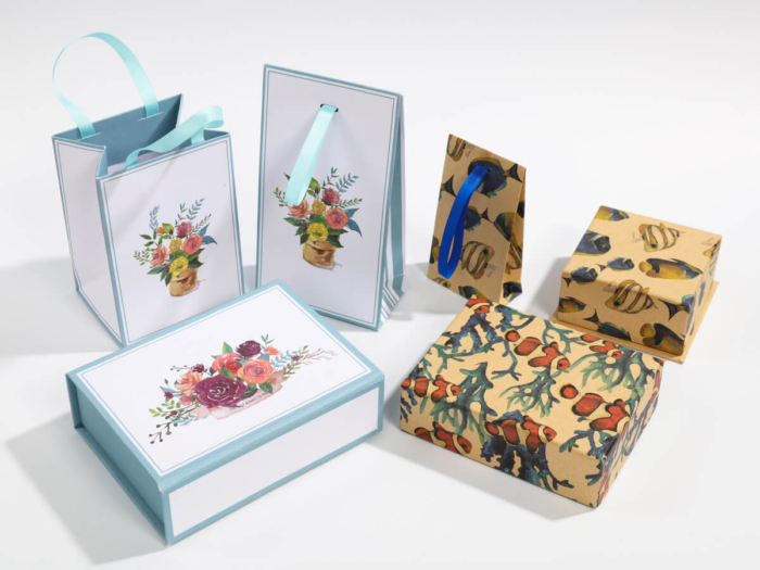 Natural Environment Packaging Boxes and Bags