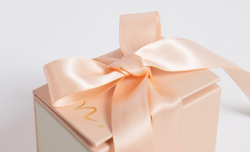 New Products Release Gift Packaging Boxes Ribbons Material