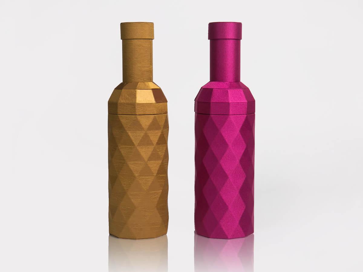 Original Desgine Wine Bottle Shaped Packaging Boxes