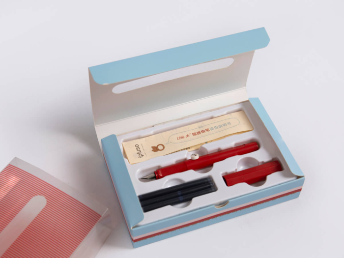 Pen Packaging Gift Boxes Lining Detail