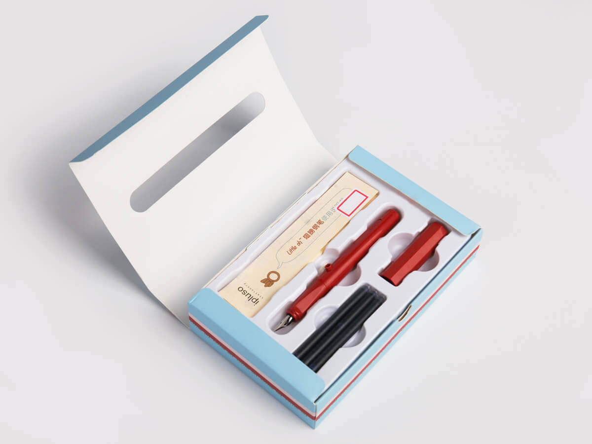 Pen Packaging Gift Boxes Open Way