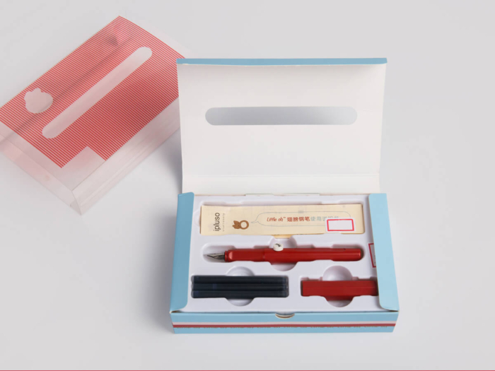Pen Packaging Gift Boxes Set With Transparent Windows