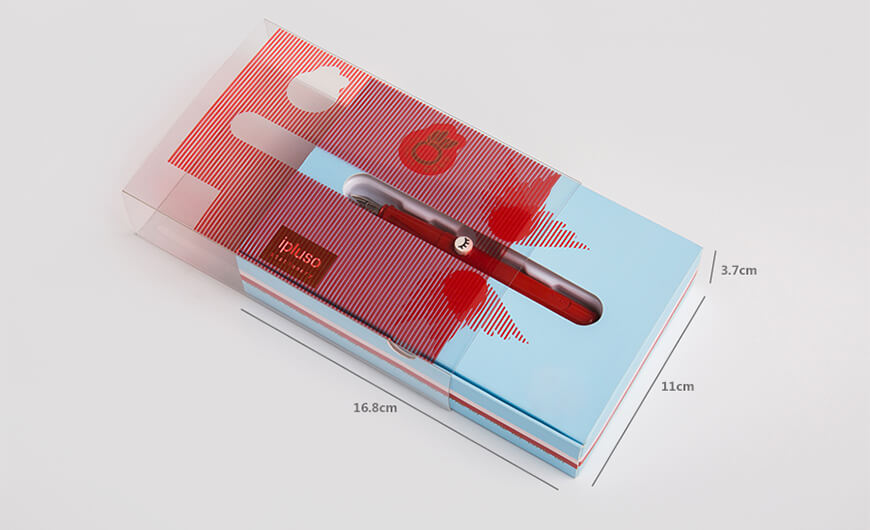 Pen Packaging Gift Boxes Set With Transparent Windows Size