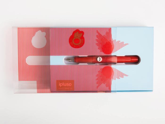 Pen Packaging Gift Boxes Transparent Material Detail
