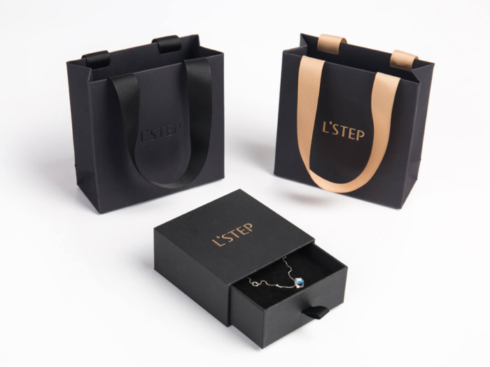 Pendant Packaging Boxes and Bags Set