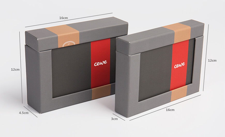 Photo Album Packaging Boxes Size