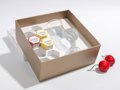 Premium Flowering Teas and Cup Packagig Rigid Boxes