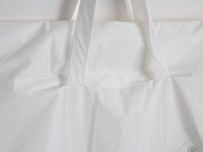 RPET Longer Garment Gowns and Coat Bag Handle Detail