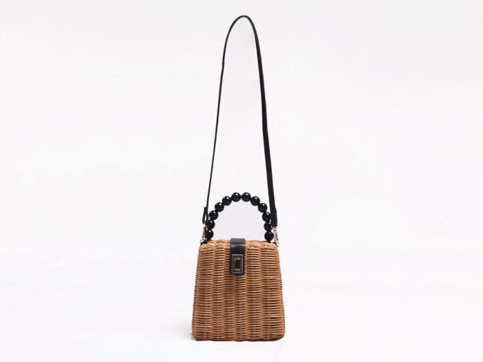 Rattan Handle Bag Display