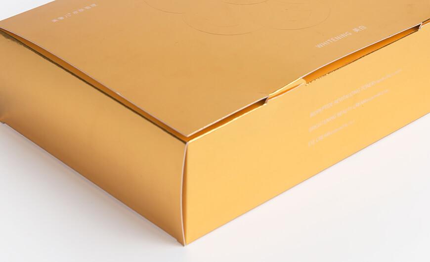 Skin Care Set Packaging Boxes Corner Display