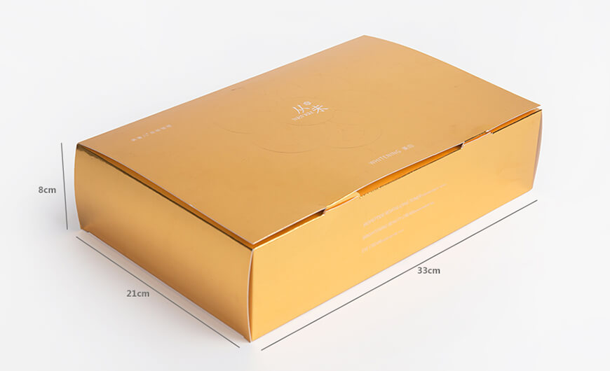 Skin Care Set Packaging Boxes Size