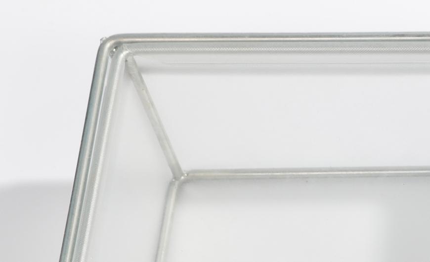 Transparent PVC Packaging Boxes Corner