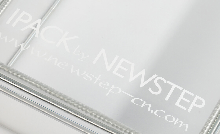 Transparent PVC Packaging Boxes LOGO Printed Technique